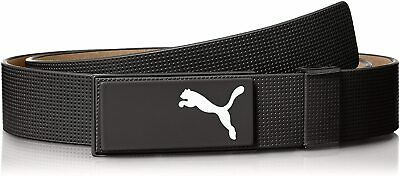 Puma All In One 100% Leather Cut To Length Golf Belt -...