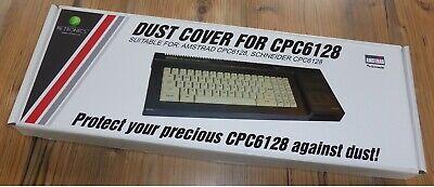 SCHNEIDER CPC 6128 Abdeckung, NEU. AMSTRAD CPC 612 Dust cover , NEW.