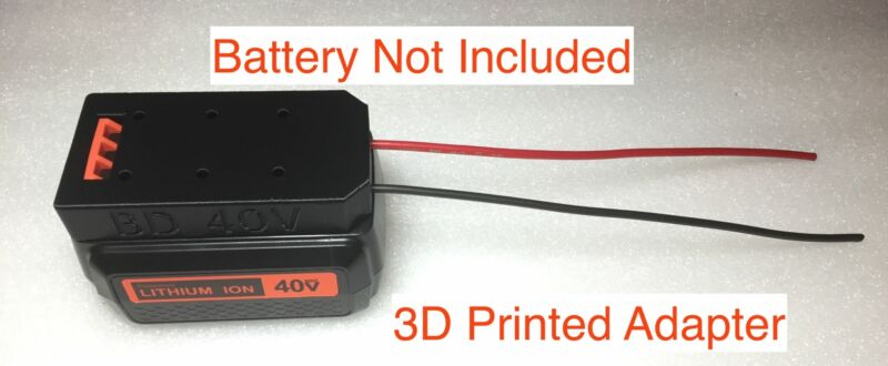 battery adapter for Black & decker 40V dock power connector robotics LB2040 2540