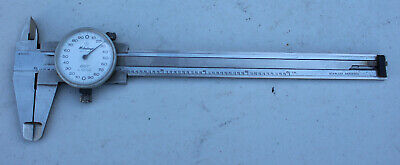 Vintage Mitutoyo No. 505-626 .001 Dial Caliper Machinist Tool 6 Made In Japan