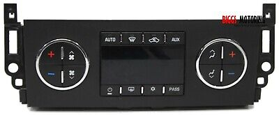 2007-2011 Chevy Tahoe Yukon Ac Heater Climate Control Unit 25869946