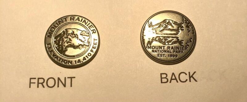 Mount Rainier NP NPS Collector Token Elevation 14,410 Ft- 1 Token