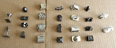 MULTI-LIST OF SCENE-IT BOARD GAME REPLACEMENT SPARE METAL TOKENS TREK//007 ETC