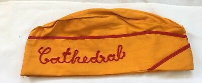 Cathedral School For Boys (SF) Uniform Hat from mid-1960s, excellent condition