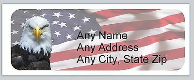 30 Personalized Address Labels Us Flag Buy 3 Get 1 Free Ac 634