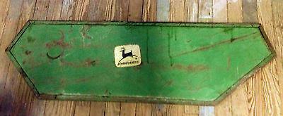 John Deer Vintage Equiptment Panel For Rustic Decor Collectible Refurbish Mm0025