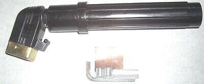 Short Stub Welding Electrode Holder 600 Amp Screw Type Holds Up To 316 Rod