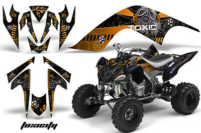 Amr Racing Sticker Graphics Decal Kit Yamaha Raptor 700 Accessories Part Toxic O