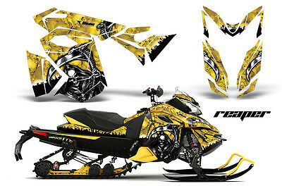 2013 Ski Doo Rev Xs Renegade Xrs Graphic Kit Snowmobile Sled Wrap Decal Reaper Y