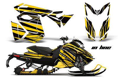 2013 Ski Doo Rev Xs Renegade Xrs Graphic Kit Snowmobile Sled Wrap Decal Inline Y
