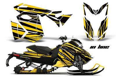 2013 Ski Doo Rev Xs Renegade Xrs Graphic Kit Snowmobile Sled Wrap Decal Inline Y