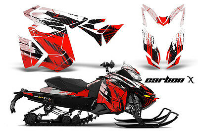 2013 Ski Doo Rev Xs Renegade Mxz Graphic Kit Snowmobile Sled Wrap Decal Carbon R