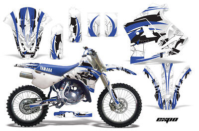 Dirt Bike Graphics Kit Decal Sticker Wrap For Yamaha WR250Z 1991-1993 EXPO BLUE