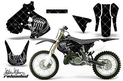 Dirt Bike Graphics Kit Decal Sticker Wrap For Suzuki RM250 1999-2000 RELOAD SLVR
