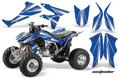 ATV Graphics Kit Quad Decal Sticker Wrap For Honda TRX450R TRX450ER CONTEND W U