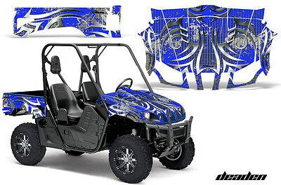 UTV Graphics Kit Decal Wrap For Yamaha Rhino 450/660/700 2004-2013 DEADEN BLUE