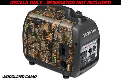 Decal Wrap For Honda EU2000i Skin Camping Generator Engine Sticker WOODLAND CAMO