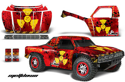 AMR RC GRAPHIC DECAL KIT TRAXXAS ST COURSE JCONCEPTS 1979 FORD F250 BODY - MELT
