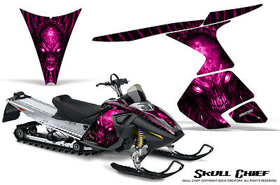 SKI-DOO RT MACH Z MX Z 05-09 SNOWMOBILE CREATORX GRAPHICS KIT SKULL CHIEF P