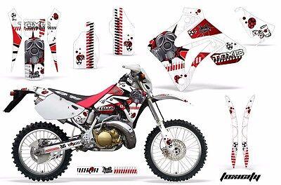 Dirt Bike Graphic Kit Decal Sticker Wrap For Honda CRM250AR 1996-1999 TOXIC R W
