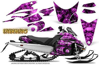 Yamaha FX Nytro 08-14 Graphics Kit CreatorX Snowmobile Sled Decals INFERNO P