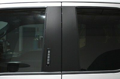 Custom Vinyl Decal Wrap Kit for 15-17 Ford F-150 Door Window Pillars Matte Black for sale  Shipping to Canada