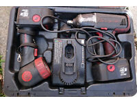 Snap On 18V Cordless Impact Wrench and torch, £175