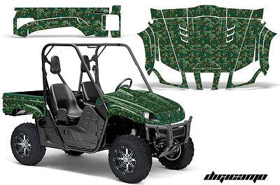 UTV Graphics Kit Decal Wrap For Yamaha Rhino 450/660/700 2004-2013 DIGICAMO GRN