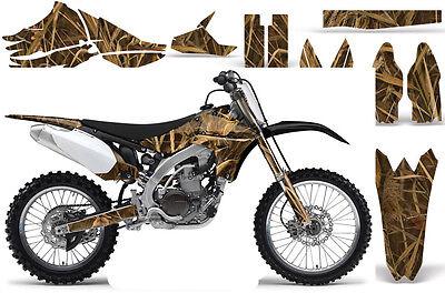Dirt Bike Graphics Kit Decal Sticker Wrap For Yamaha YZ450F 2010-2013 WING CAMO