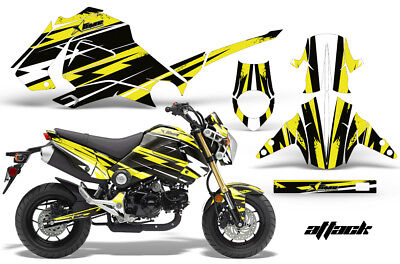 Dirt Bike Graphics Kit Decal Sticker Wrap For Honda GROM 125 2013-2016 ATTACK Y