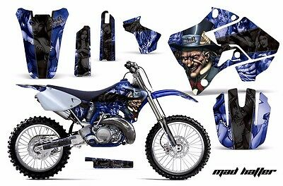 Dirt Bike Graphic Kit Decal Sticker Wrap For Yamaha YZ125 YZ250 96-01 HATTER K U