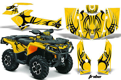 ATV Graphics Kit Decal Wrap For CanAm Outlander 800R/1000 XT-P DPS SST G2 TR K Y