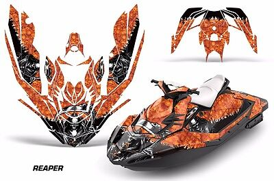 Sea-Doo Bombardier Spark 3 UP Jet Ski Graphic Kit Wrap Jetski Parts 2015 REPR O