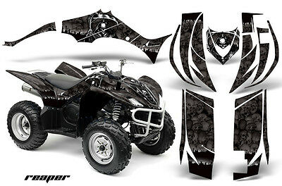 ATV Decal Graphic Kit Quad Sticker Wrap For Yamaha Wolverine 450 06-12 REAPER K