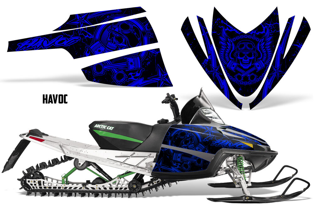 Decal Graphic Kit Arctic Cat M Series AC Crossfire Sled Snowmobile Wrap HAVOC U