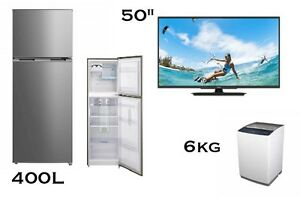 "PACKAGE: 50"" TV, 400L FRIDGE, 6Kg WASHER cash or  $30p/w Bundall Gold Coast City Preview"