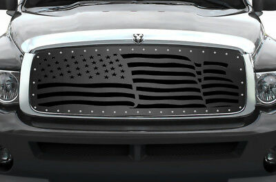 Custom Grille for 2002-2005 Dodge Ram Trucks 1500/2500/3500 Steel Grill AMERICA