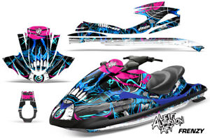 Yamaha Wave Runner Jet Ski Decal Wrap Sticker Graphics Kit 2002-2005 FRENZY BLUE