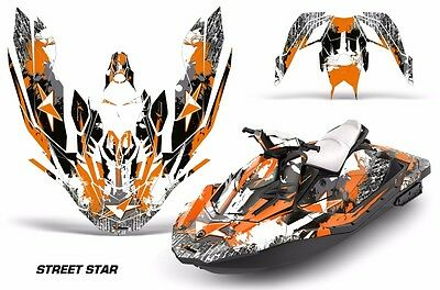 Sea-Doo Bombardier Spark 2 UP Jet Ski Graphic Kit Wrap Jetski Parts 2015 STAR O