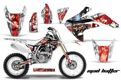 Dirt Bike Graphics Kit Decal Sticker Wrap For Honda CRF150R 2007-2016 HATTER R W