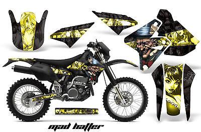 Dirt Bike Graphics Kit Decal Sticker Wrap For Suzuki DRZ400 2000-2018 HATTER Y K