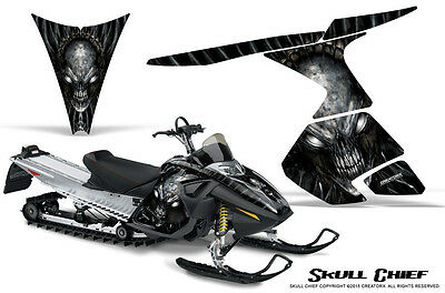 SKI-DOO RT MACH Z MX Z 05-09 SNOWMOBILE CREATORX GRAPHICS KIT SKULL CHIEF S