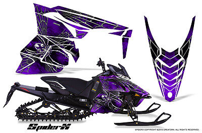 YAMAHA VIPER 2014-2016 SNOWMOBILE SLED WRAP GRAPHICS KIT CREATORX SXPR