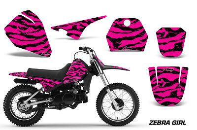 Dirt Bike Decal Graphic Kit Sticker Wrap For Yamaha PW80 PW 80 1996-2006 ZEBRA P