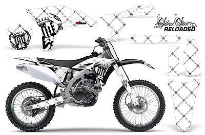 Dirt Bike Graphics Kit Decal Sticker Wrap For Yamaha YZ250F 2010-2013 RELOAD K W