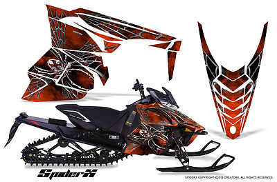 YAMAHA VIPER 2014-2016 SNOWMOBILE SLED WRAP GRAPHICS KIT CREATORX SXOD
