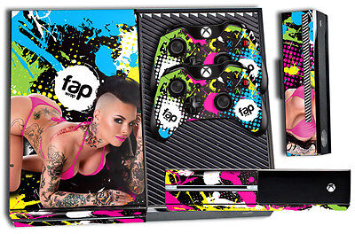 Fap Wrap Skin For Xbox One 1 Console  2 Controller Sticker Decals Christy Mack N