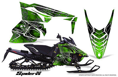 YAMAHA VIPER 2014-2016 SNOWMOBILE SLED WRAP GRAPHICS KIT CREATORX SXG