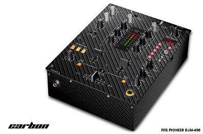 Piel Calcomanía Envuelva Para Pioneer DJM-400 Dj Mezclador CD pro Audio