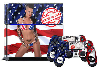 Fap Wrap Skin Ps4 Playstation Sticker 4 Console Controller Decals Christy Mack U